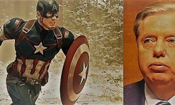 "Captain America Taunts Sen. Lindsey Graham – ""What Do They Have On You?"""