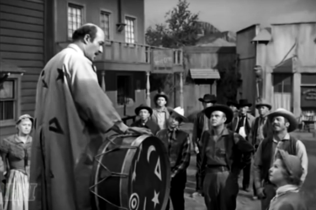 "UNBELIEVABLE: 1950's TV Western Featured Con-Man Named ""Trump"" Who Tried To Sell Town A Wall"