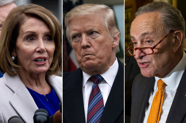 "Trump Says ""Bye Bye"" & Storms Out Of Meeting With Congressional Democrats"