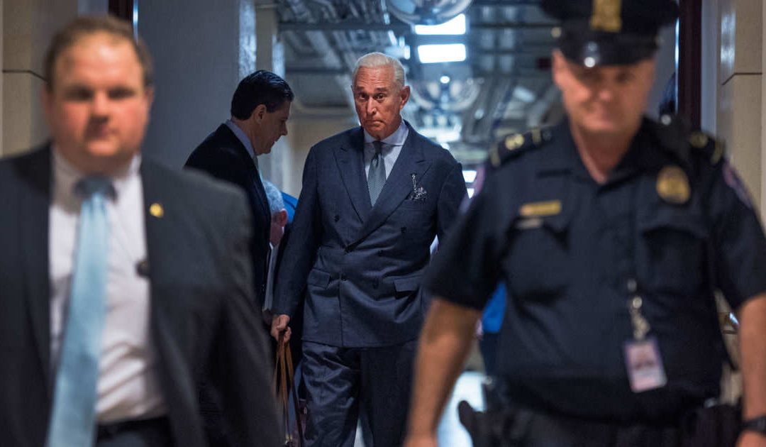 "Enough! Judge Puts Full Gag Order On Trump Ally Roger Stone – Says He's ""Fanning The Flames"""