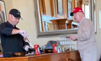 "Social Media Pounces On Pic Showing Trump At Golf Club During ""National Emergency"""