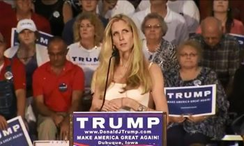 Trump Says He Doesn't Know Ann Coulter – Eyes Roll At Press Conference