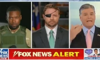 Fox News Reporter Dresses Up In Armored Vest – Ridiculed For Propaganda At The Border