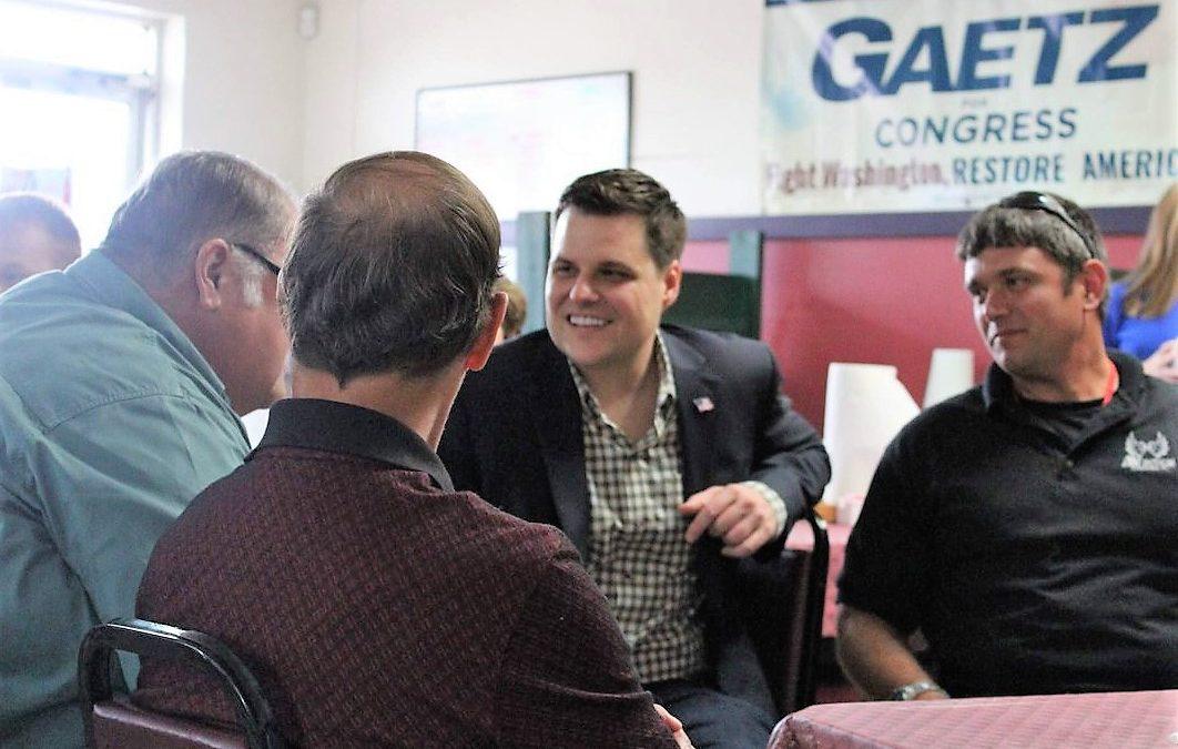 Matt Gaetz Hires White Nationalist – Fired By Trump – To Be His Congressional Speechwriter