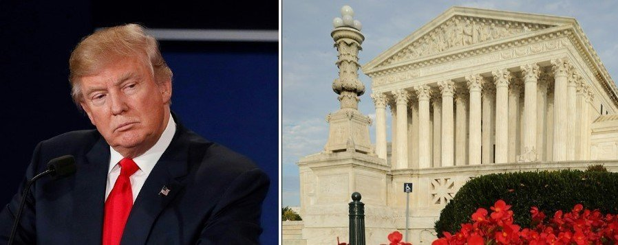 Forget The Constitution, Trump Says He'd Turn To Supreme Court If House Impeached Him
