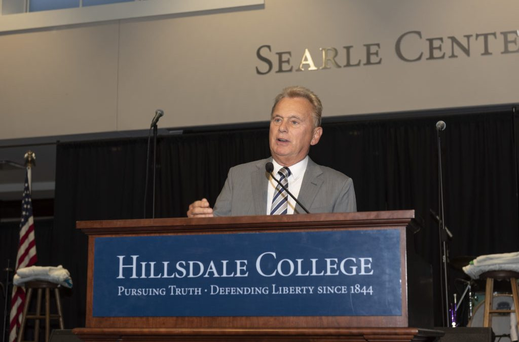 Game Show Host Pat Sajak To Lead Board At Well Known Conservative College