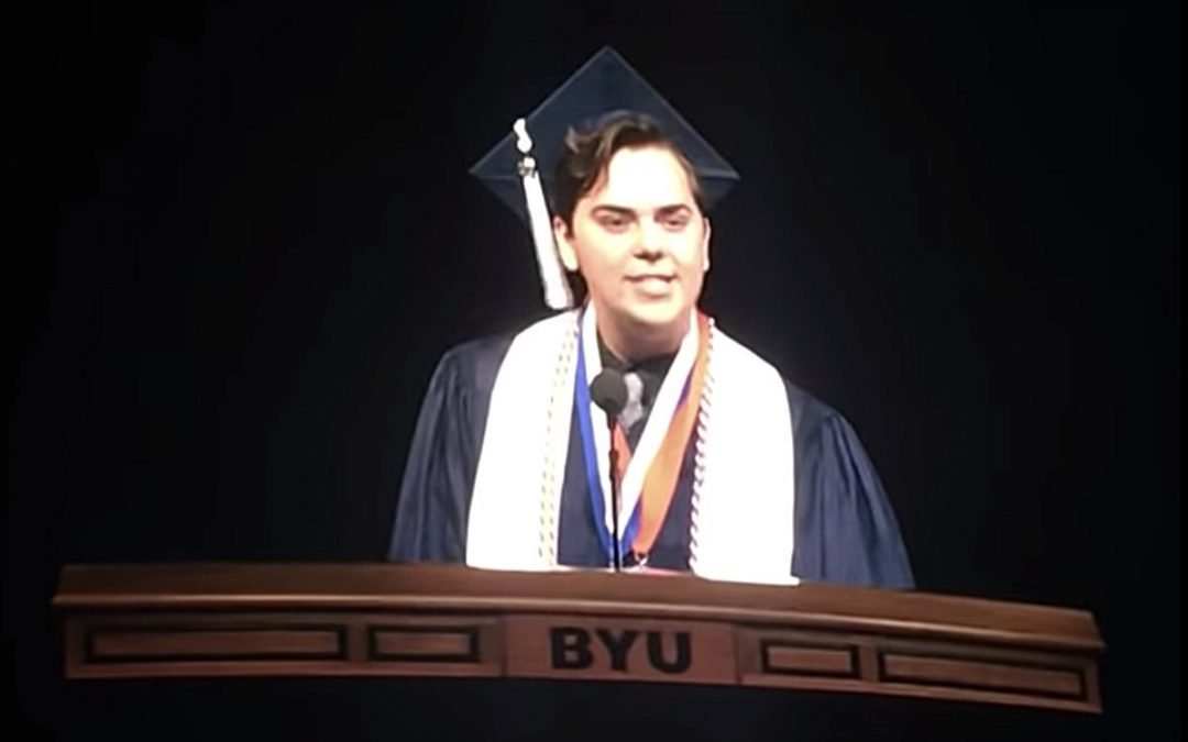 Mormon Student Comes Out As Gay Midway Through Delivering BYU Commencement Speech