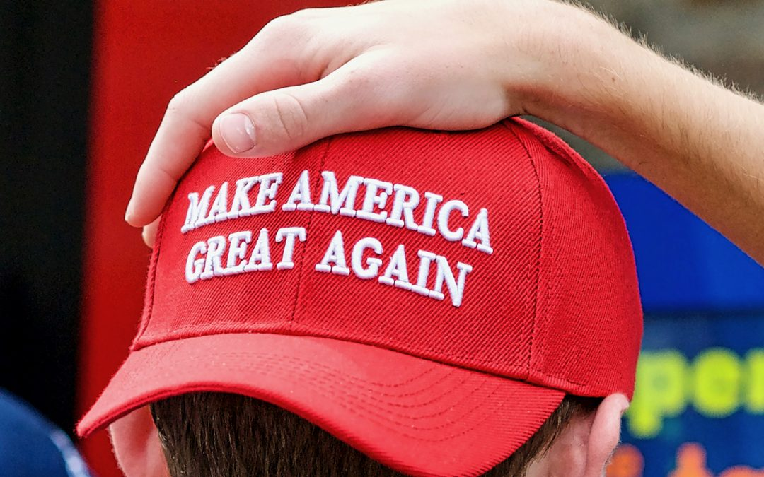 cd7a1e9c0d1 ELECTION 2020  1 Million MAGA Hats Sold – Opponents Suggest Hidden Message