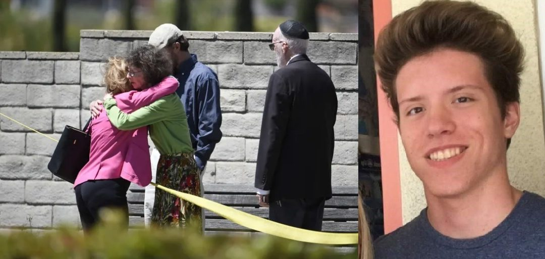 "Synagogue Attacked By 19 Year Old ""Jew Hater"" – One Dead, Several Others Injured"