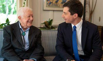 Buttigieg & Husband Meet Carter in Plains – Similarities Between '76 & Current Campaign
