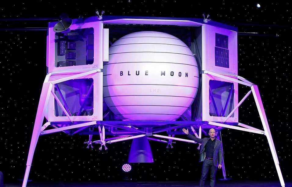 "Bezos Introduces ""Blue Moon"" – NASA Scrambles To Meet Trump 2024 Goal To Get Back To Moon"