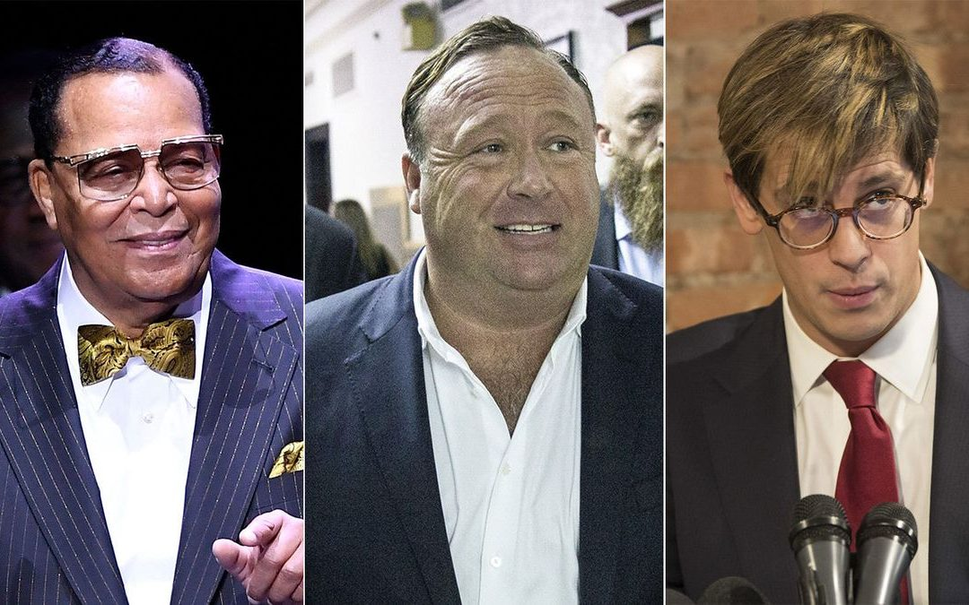 Farrakhan, Yiannopoulos, Jones, Infowars & Other Hateful Pages now BANNED From Facebook