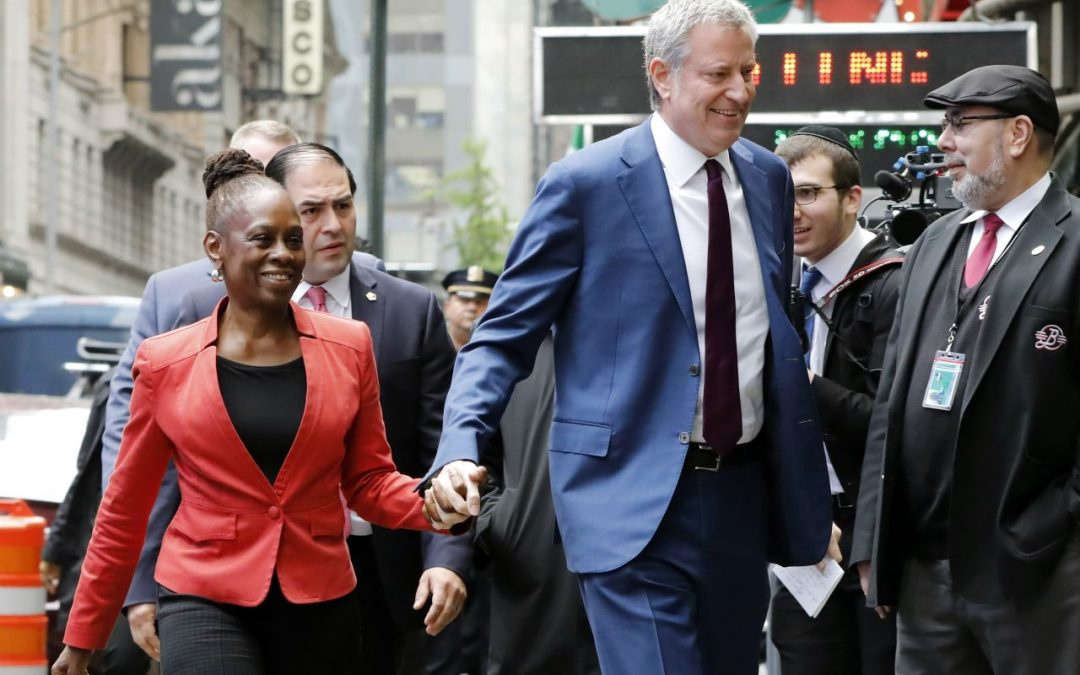 New York Elections 2020 ELECTION 2020: New York's Bill de Blasio Enters Race For President