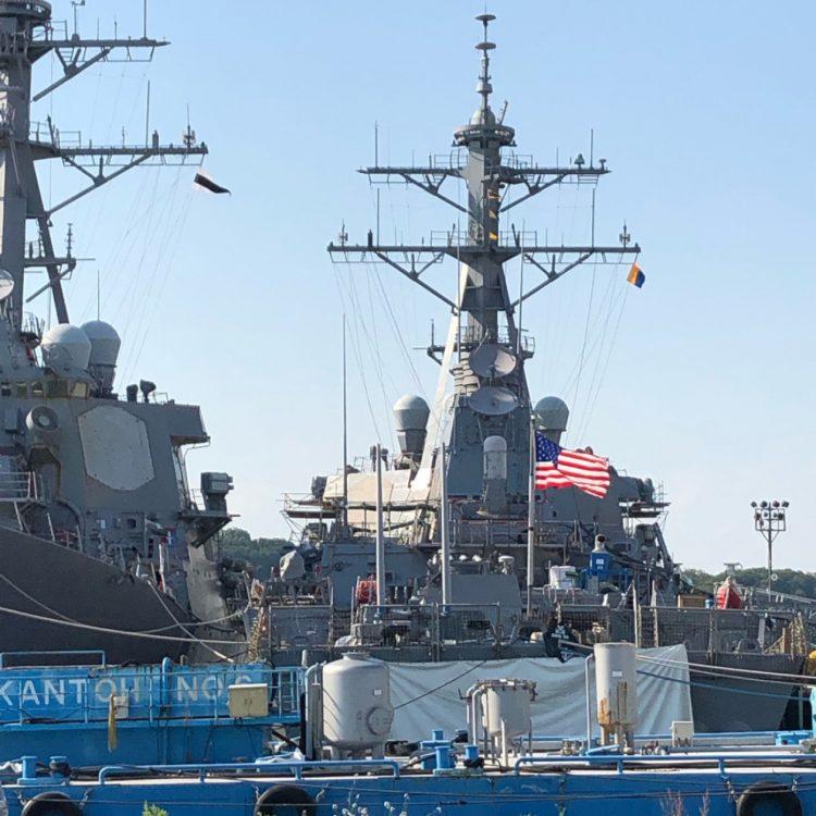 "Meghan Mccain Cries During John Mccain S Arizona Service: PETTY: White House Ordered USS John McCain Warship ""Out Of"