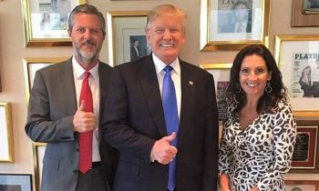 REUTERS: Dirty Pictures Of Jerry Falwell Jr. May Have Led To Early Trump Support
