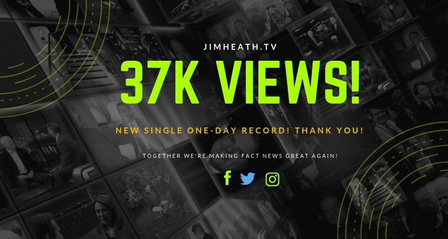 JimHeath.TV Breaks Single Day Record Views – Over 37K On A Saturday!
