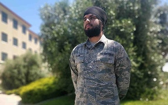 Air Force Allows Sikh Airman To Wear Turban & Beard While