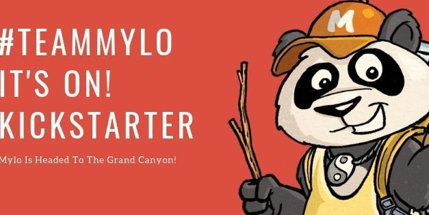 MYLO THE PANDA: Kickstarter Campaign Starts TODAY For Traveling Panda & Roadrunner Sidekick
