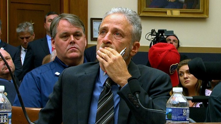 """WATCH: Jon Stewart Emotional Plea To Congress For 9/11 Victims – """"It's An Embarrassment To The Country"""""""