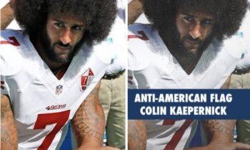 """GOP Darkens Kaepernick's Skin Color In Fundraising Email – Racial Prejudice Called """"Disgusting"""""""