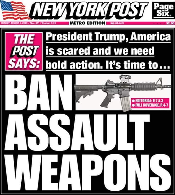Conservative New York Post Urges Trump To Ban