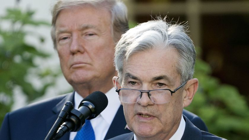 """Trump Attacks His Own Fed Chairman Over Interest Rates – """"They Don't Have A Clue"""""""