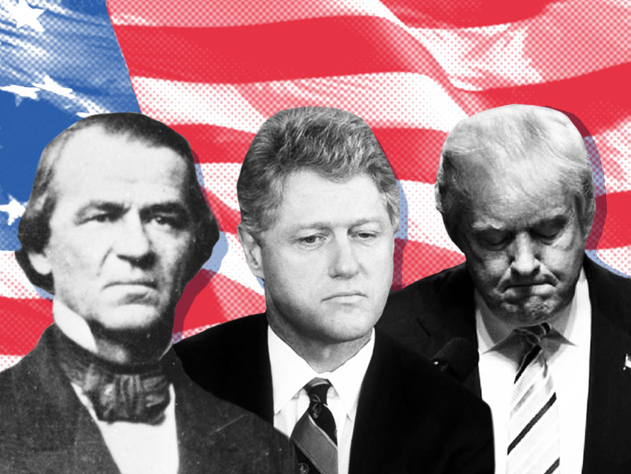 LIVING HISTORY TODAY:  Donald J. Trump Becomes Third President To Be Impeached