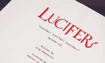 Lucifer! Lucifer! Lucifer! – Episode 2 Of The Final Season Is Written & Tom Ellis Is Ready