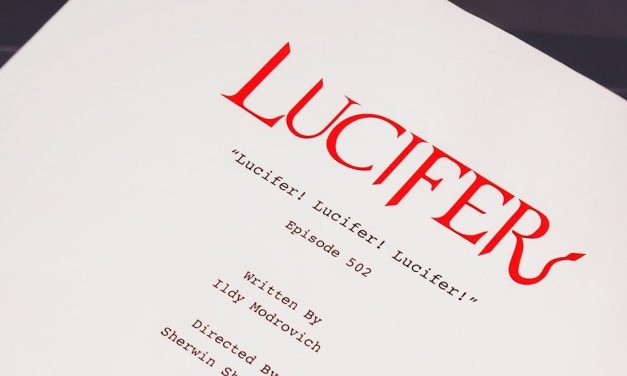 Lucifer! Lucifer! Lucifer! – Episode 2 Of The Final Season Is Written & Tom Ellis Is Ready