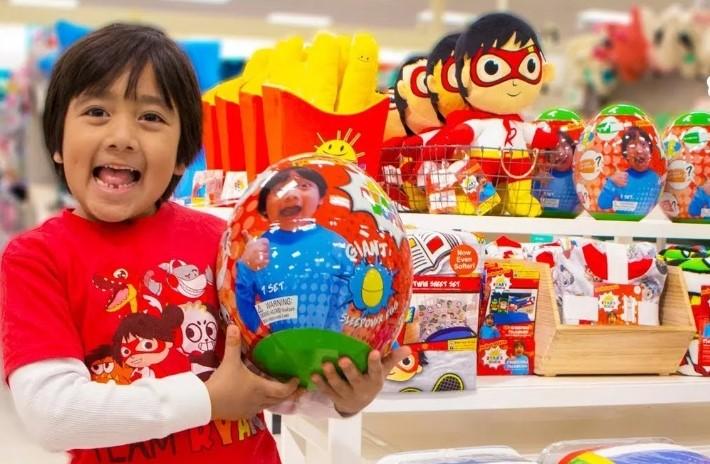 7-Year Old Ryan Kaji, You-Tube's Highest Earner, Under Investigation For Not Disclosing Paid Sponsorships