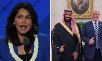 "ELECTION 2020: Tulsi Gabbard Slams Trump – Calls Him ""Saudi Arabia's Bitch"""