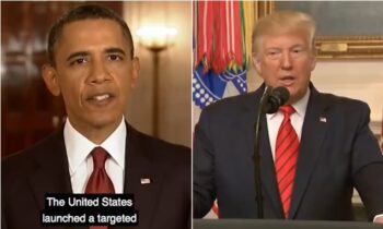 Jimmy Kimmel Offers Hilarious Mash Up Of Trump & Obama Announcing Terrorist Deaths
