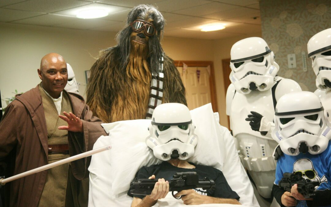 Disney Comes Through – Dying Star Wars Fan Has Private Showing Of New Film