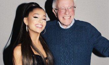 ELECTION 2020: Ariana Grande Backs Bernie For President