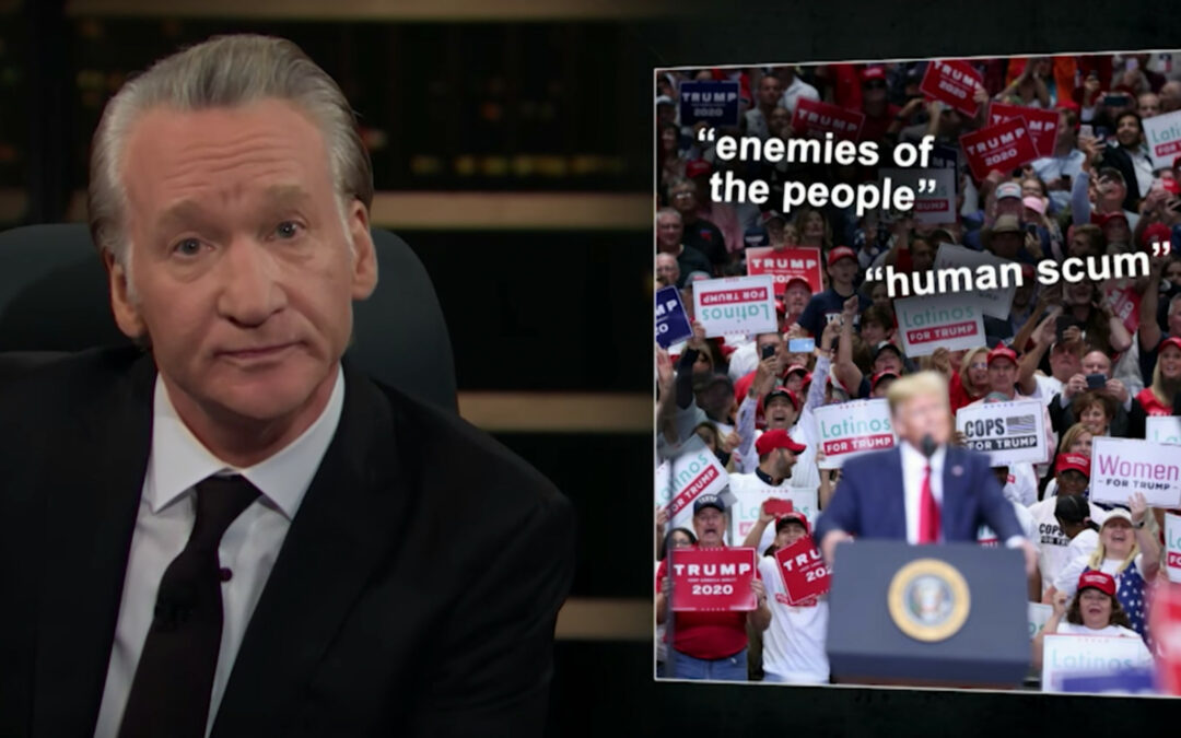 Bill Maher Warns Right-Wing Is Serious About CIVIL WAR – Vows To Tone Down Rhetoric