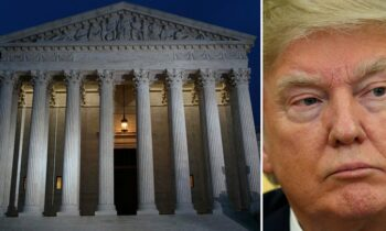 Supreme Court Puts Temporary SHIELD On Trump's Tax Returns