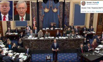IMPEACHMENT TRIAL: GOP Senators Vote AGAINST Subpoenaing White House For Ukraine Documents