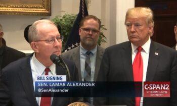 "STUNNING: GOP Sen. Lamar Alexander Says Trump ""Did It"" But WON'T Vote For Witnesses"