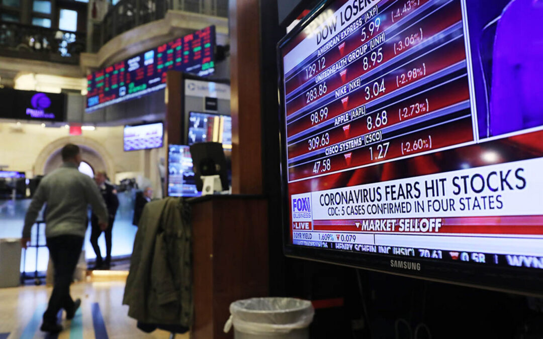 ECONOMY: Trump's Much Trumpeted Market Rally Gets Walloped By The Coronavirus