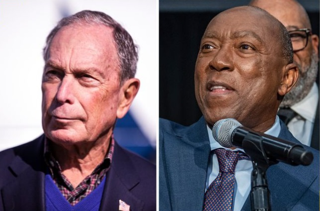 "Houston Mayor Endorses Bloomberg – Will Help Launch ""Mike for Black America"""