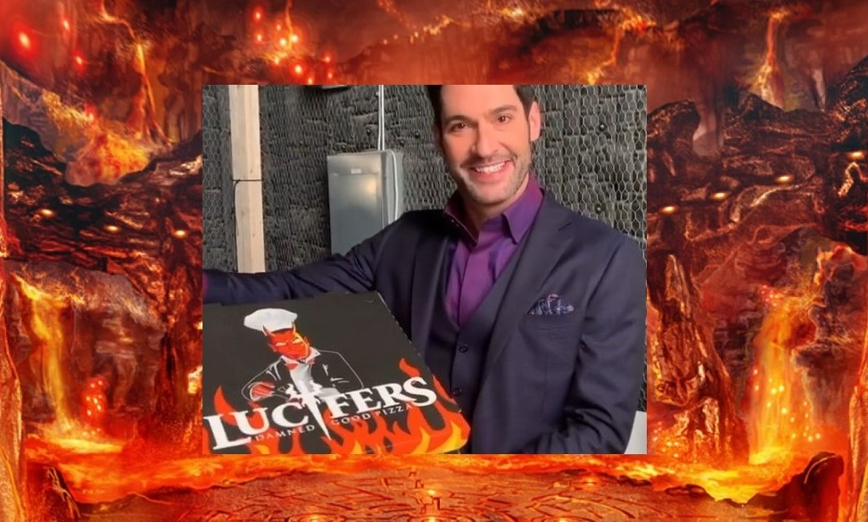 Tom Ellis & Lucifer & Pizza – Do You Really Need Anything More?