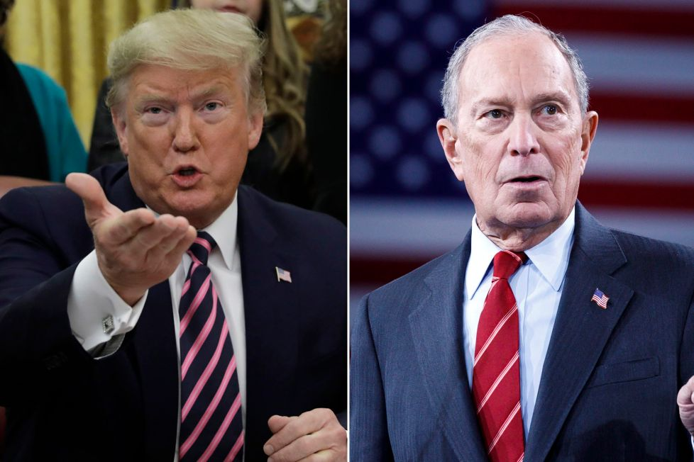 Trump Calls Bloomberg TOTAL RACIST Forgetting He Backed 'Stop & Frisk' As President