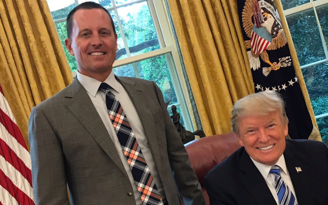 Trump & Grenell PURGE Experienced National Security Officials During Pandemic