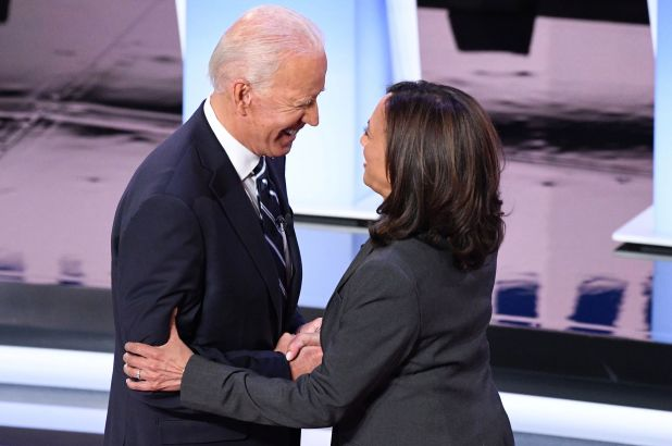 Kamala Harris Backs Biden – Speculation This Could Be THE Democratic Ticket In 2020
