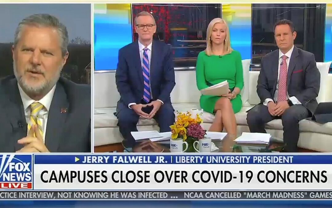 Trump Ally Jerry Falwell Jr. Suggests Coronavirus Is Foreign Weapon To Hurt Trump