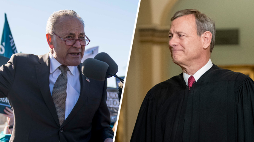 "Roberts REBUKES Schumer After Threatening ""Justices Will Pay The Price"" For Vote Against Abortion Rights"
