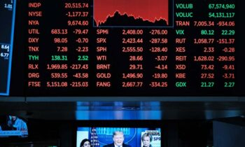 The Dow Suffers WORST Point Drop EVER As Stocks Tumble Again