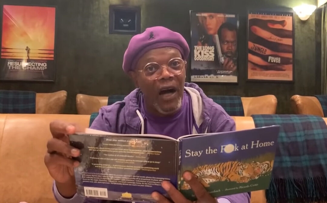 """Samuel Jackson Reads """"Stay The F**k At Home"""" For Social Distancing Campaign"""