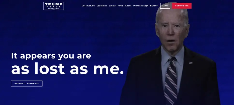 Dropping In Polls, Trump Campaign Launches Ads Questioning Biden's Age