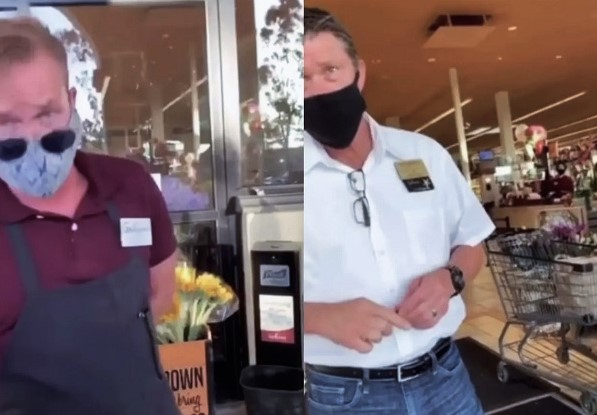 WATCH: Irate Woman Branded 'COVIDIOT' After Accusing Market Of Discrimination For Making Her Wear Mask